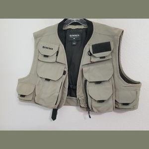 Simms Fishing Vest Size XL